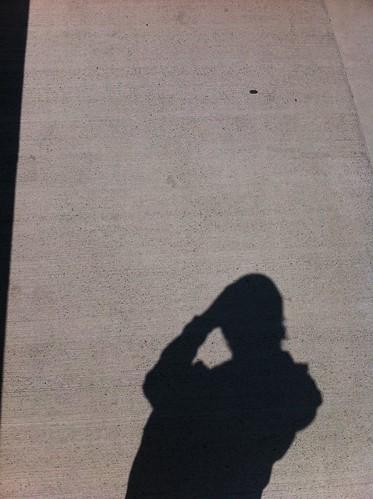 iPhone4に185°魚眼レンズKSW-4をつけて定点撮影。レンズ無 #izawaopt