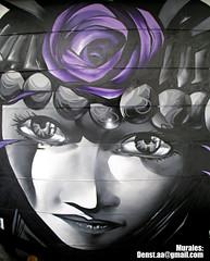 Mapuche (denst1) Tags: chile graffiti mural mapuche giratorio restorant 2011 denst