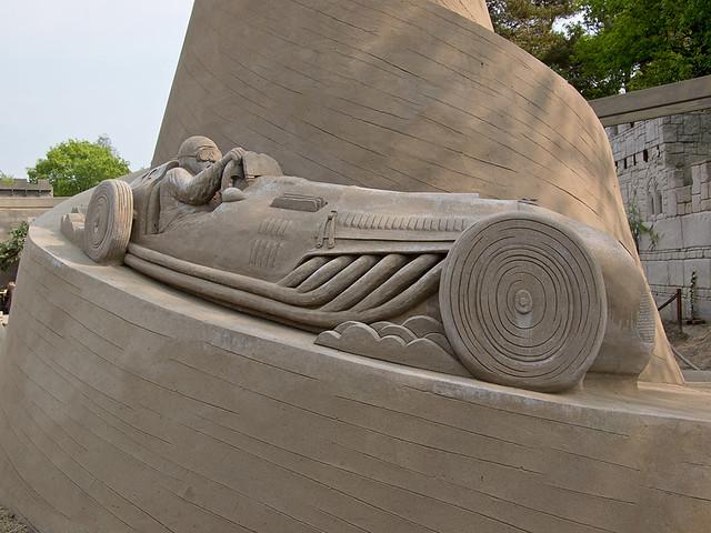 Beeldentuin Garden/ Sand Sculpture