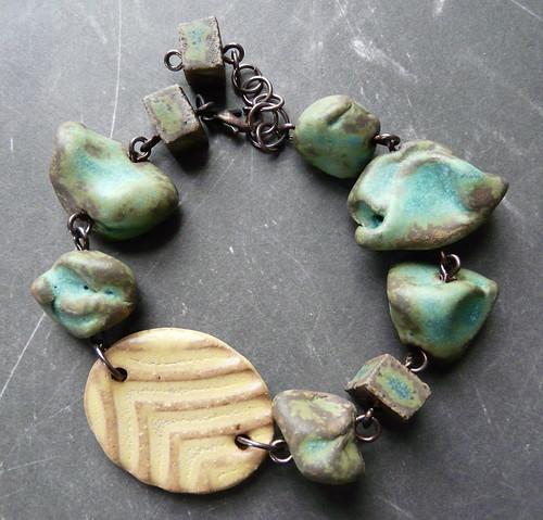 Chunky CHUNK Ceramic Bracelet