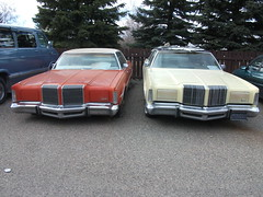 Pair of Chrysler Imperials (dave_7) Tags: car imperial 70s chrysler imperials