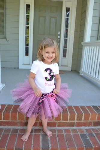 Maddie turns 3