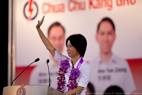 Singapore General Election 2011- PAP Rally - Choa Chu Kang GRC by Justin Qian