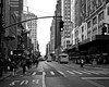 (SGCampos) Tags: life street city newyorkcity light urban bw usa white newyork black building bus window architecture landscape us nikon crossing traffic state flag pedestrian line d90 skycreeper sgcampos sgcam