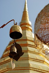 Prayer Bell on Doi Suthep (Dragos Cosmin- Getty Images Artist) Tags: old city travel flowers blue vacation sky flower building history tourism nature water beautiful asian thailand religious temple gold golden worship asia hand bell bangkok buddha buddhist postcard traditional prayer religion pray over culture buddhism mini mai thai backgrounds meditation oriental spiritual wat chiang doisuthep isolated pouring province chedi chaingmai doi suthep stuppa phrathat วัดพระธาตุดอยสุเทพ