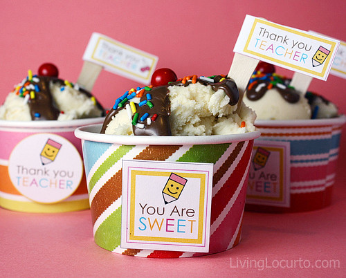 Teacher Cupcake Printable