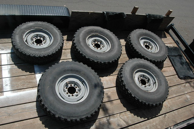 Original 1978 FJ40 wheels/tires. What are they worth ...