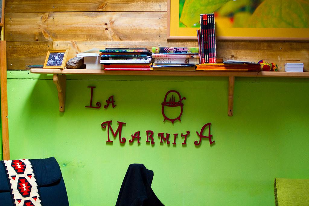La Marmita restaurant in Punta Arenas