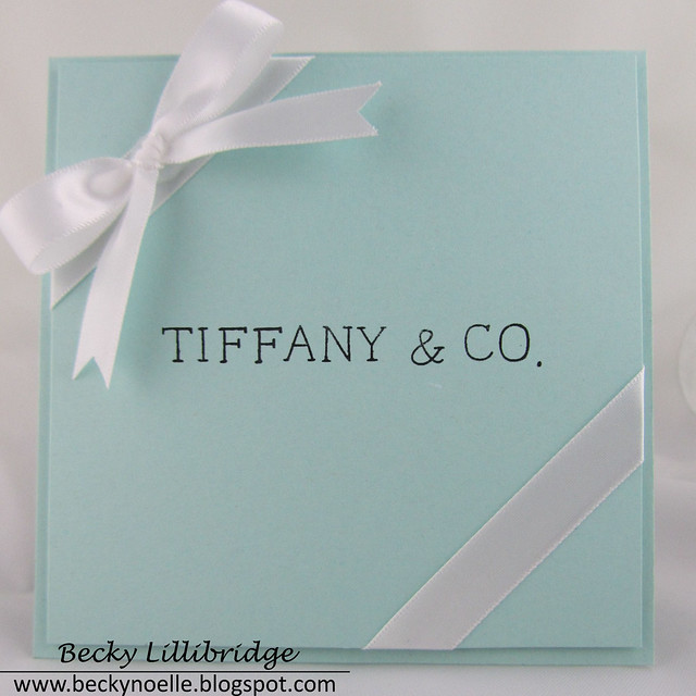 beckynoelle - tiffanys card