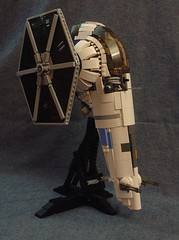 Odd Manka Cat 1 (Sydag) Tags: lego star wars moc slave one hybrid fighter uglies