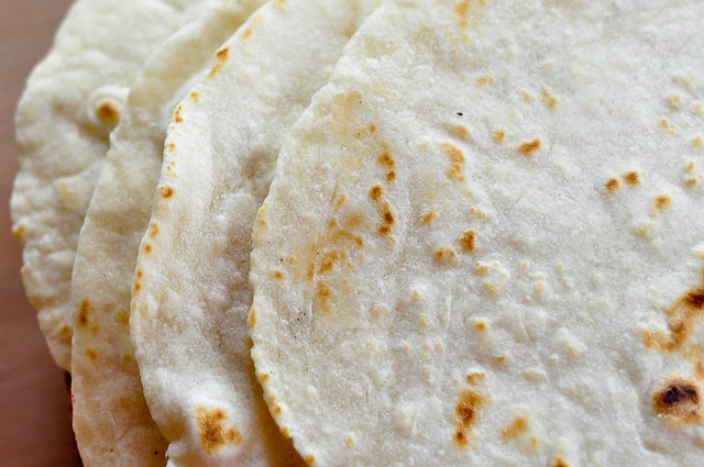 sprouted flour tortillas