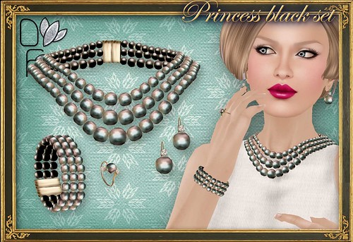 PRINCESS black set