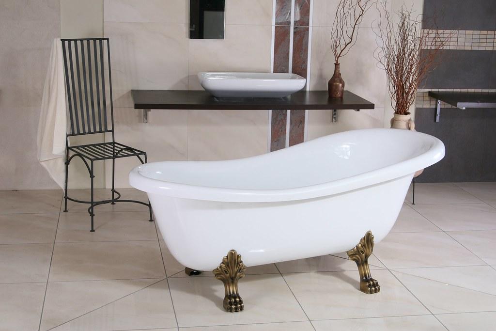 Freistehende badewanne antik gebraucht  NEUE FREISTEHENDE BADEWANNE RETRO - Fabrikverkauf, super günstig ...