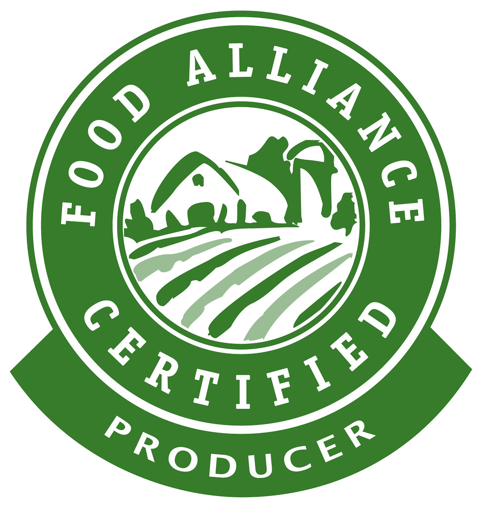 Food Alliance Certified Producer, used with permission
