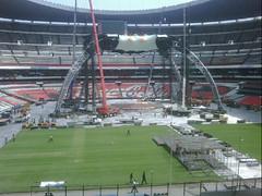 Quinto día de montaje - Estadio Azteca 36