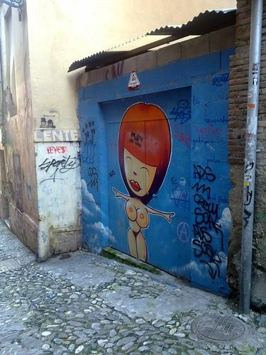 Grafitti cerca de la calle Elvira