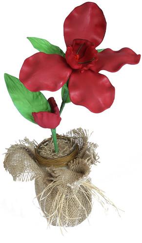 Flor Orquídea em EVA by PARANOARTE