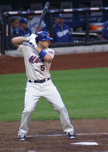 Wright at bat