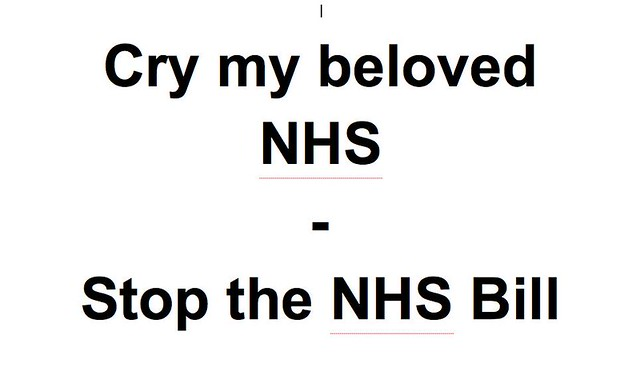 From an NHS worker of 37 years