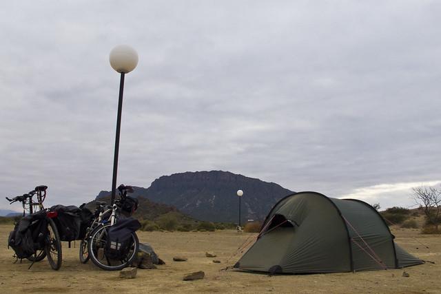 Ischigualasto Milli Park - Camping