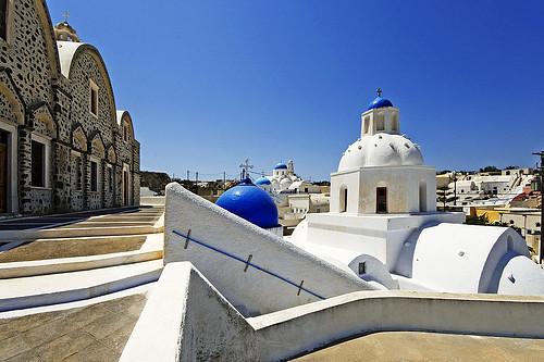 Pueblos de Santorini