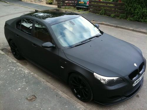 Matte Black BMW >> Matte Black Bmw E60 M5 Replica A Photo On Flickriver