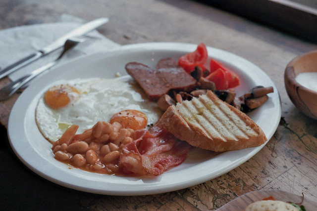 english breakfast italian style