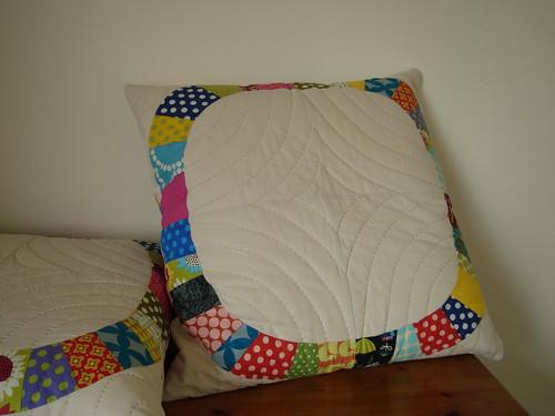 Single Girl cushions