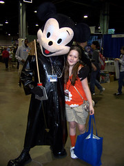 Katie & King Mickey