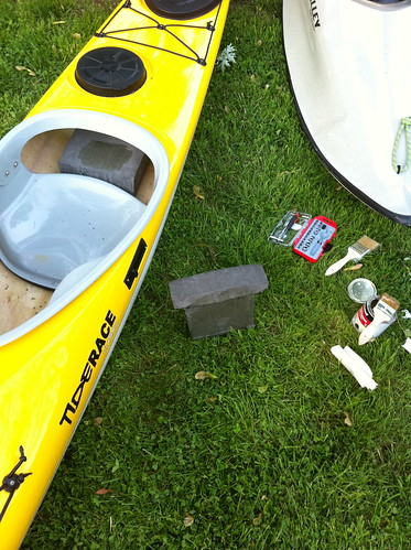 How to outfit your sea kayak with foam | Sea Kayaking, Surf