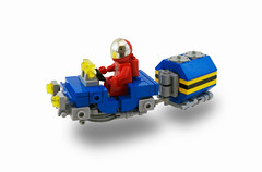 230-Series Compact Hover Jeep (Titolian) Tags: blue black classic yellow lego jeep space retro series neo compact hover bley futre