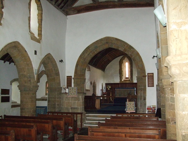St Mary's Llanaber Interior Nave
