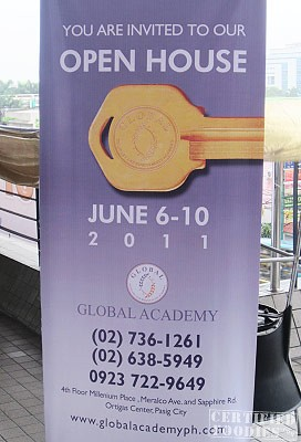 Open House at Global Academy's Pasig campus - CertifiedFoodies.com