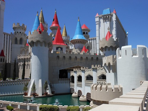 Excalibur castle!