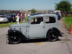 Austin (kenjonbro) Tags: uk england london austin grey 1937 abbeywood se2 se28 fujihs10 ebh355 crossnessopenday