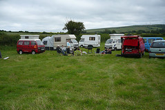 Early part of the meet (duncanamps) Tags: bedford wiltshire calne bedfordbambi bedfordrascal rascalenthusiasts 201106calne