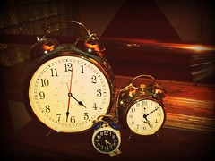 Time Will Tell (BlackAndBlueBeauty) Tags: clock three montana butte time tell uptown will