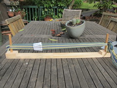Tablet weaving loom