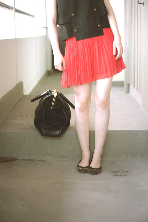 skirt in action