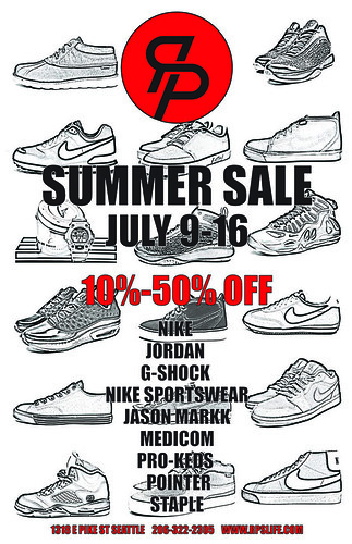 Summer 2011 Sale Flier