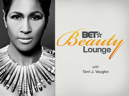 Terri Vaughn in BET Beauty Lounge wearing All-Earz Jewelry Exclusive by allearzjewelry