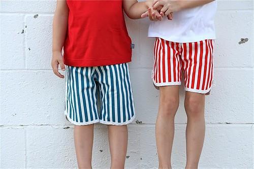 racer shorts