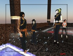 Tourney_007 - ImperiuM (Caitlin Tobias) Tags: fight ninja sl tournament secondlife sword samurai katana combat spar csi imperium sessou