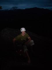 Angel's Crest, 5.10c, Squamish - Dusk Top-out (Karsten Klawitter) Tags: june climb bc britishcolumbia adventure climbing granite rockclimbing westcoast squamish trad 2011 multipitch angelscrest thisiswhatilivefor 510b squamishbritishcolumbia