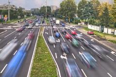 Speed of Milan / Velocità di Milano (Fil.ippo) Tags: milano milan speed velocità filippo d5000 filter long exposure lunga esposizione freccia arrow motion blur mosso nd expo2015 filippobianchi