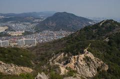 Suma Alps, Kobe /  (Kaoru Honda) Tags: mountain nature japan trekking landscape japanese spring nikon shrine outdoor hiking traditional mountainclimbing kobe mountaineering       suma   mountaintrail         takatorisan rokkou    rokkousan  d7000