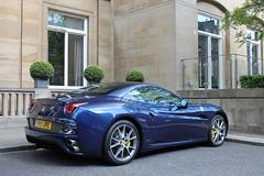 Blue. (michaelbham243) Tags: california blue london car italian convertible ferrari knightsbridge expensive mayfair supercar