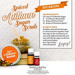 15-Autumn Sugar Scrub (Jessica Bailey YLEO) Tags: yleo essential oils young living autumn fall recipes wellness oil oily mom body system support