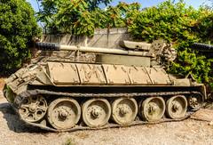 Self Propelled Gun (1) (maskirovka77) Tags: israeldefenseforces idf museum idfmuseum tanks m48 outdoors hdr armoredcar artillery antiaircraft armoredpersonnelcarrier bridgingequipment