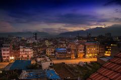 Kathmandu sunset (cescapasini) Tags: nepal sunset kathmandu